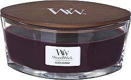 Parfémy, Parfumerie, kosmetika Vonná svíčka ve sklenici - Woodwick Ellipse Black Cherry