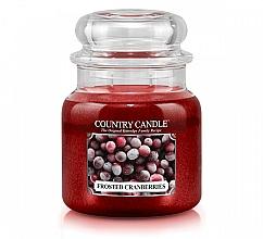 Parfémy, Parfumerie, kosmetika Vonná svíčka - Country Candle Frosted Cranberries
