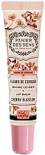 Parfémy, Parfumerie, kosmetika Balzám na rty s bambusovým olejem - Panier des Sens Lip Balm Shea Butter Cherry Blossom