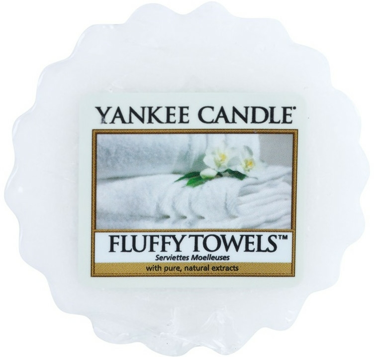 Aromatický vosk - Yankee Candle Fluffy Towels Tarts Wax Melts — foto N1