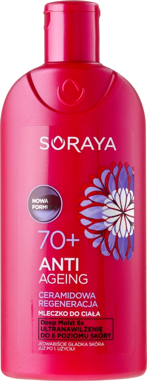 Tělové mléko 70+ - Soraya Anti Agening Body Lotion 70+