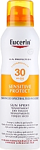 Parfémy, Parfumerie, kosmetika Ochranný tělový sprej - Eucerin Sun Protection Transparent Sun Spray Dry Touch SPF 30