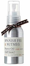 Parfémy, Parfumerie, kosmetika Bath House Spanish Fig and Nutmeg - Olej na holení