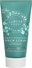 Parfémy, Parfumerie, kosmetika Hluboce čistící březový peeling na obličej - Lumene Puhdas Deeply Purifying Birch Scrub
