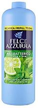 Parfémy, Parfumerie, kosmetika Tekuté mýdlo - Felce Azzurra Antibacterial Mint & Lime (náhradní náplň)