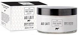Parfémy, Parfumerie, kosmetika Tělový krém-olej v sklenici - Scottish Fine Soaps Au Lait Body Butter