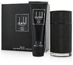 Parfémy, Parfumerie, kosmetika Alfred Dunhill Icon Elite - Sada (edp/100ml + sh/gel/90ml)