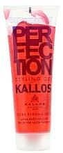 Parfémy, Parfumerie, kosmetika Modelovací gel na vlasy ultra silně tužící - Kallos Cosmetics