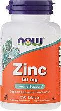 Parfémy, Parfumerie, kosmetika Glukonát zinečnatý 50mg, tablety - Now Foods Zink