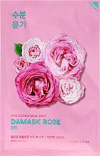 Parfémy, Parfumerie, kosmetika Hydratační látková maska s olejem damašské růže - Holika Holika Pure Essence Mask Sheet Damask Rose