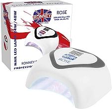 Parfémy, Parfumerie, kosmetika Lampa LED, stříbrná - Ronney Profesional Rose LED 24W/48W (GY-LED-035) Lamp