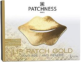 Parfémy, Parfumerie, kosmetika Náplast na rty - Patchness Lip Patch Gold