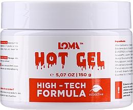 Parfémy, Parfumerie, kosmetika Hřejivý tělový krém - Loma Sports Hot Gel Cream