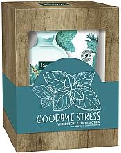 Parfémy, Parfumerie, kosmetika Sada Goodbye Stress - Kneipp Goodbye Stress Set (sh/gel/250ml + b/lot/200ml)