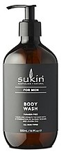 Parfémy, Parfumerie, kosmetika Sprchový gel - Sukin Sukin For Men Body Wash