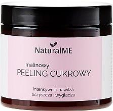 """Parfémy, Parfumerie, kosmetika Cukrový tělový peeling """"Malinový"""" - NaturalME"""
