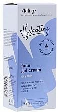 Parfémy, Parfumerie, kosmetika Intenzivně hydratační gel krém pro suchou pleť - Kili-g Hydrating Face Gel Cream