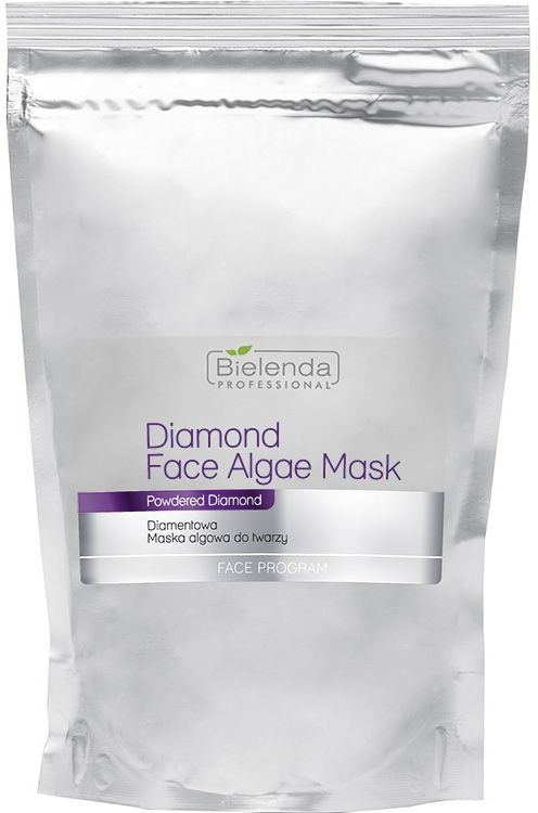 Briliantová alginátová maska na obličej - Bielenda Professional Diamond Face Algae Mask (náhradní náplň) — foto N1