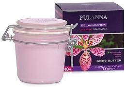 Parfémy, Parfumerie, kosmetika Zpevňující tělový olej - Pulanna Belamcanda Body Butter Anti-Aging Skin Complex