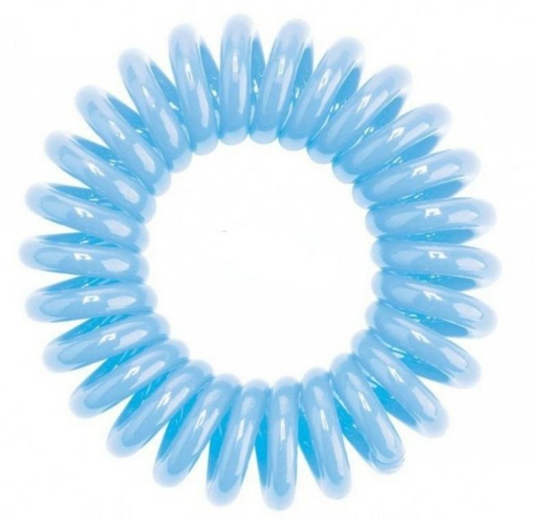 Gumička na vlasy, modrá, 3 ks - HH Simonsen Hair Cuddles Light Blue — foto N2