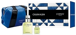 Parfémy, Parfumerie, kosmetika Calvin Klein Eternity For Men - Sada (etd/100ml + etd/15ml + bag)