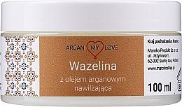 Parfémy, Parfumerie, kosmetika Vazelína s arganovým olejem na obličej a tělo - Argan My Love