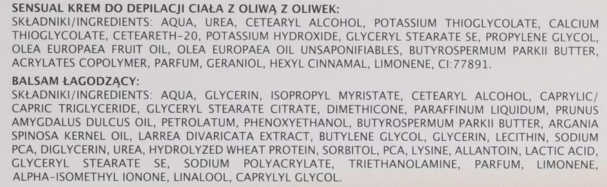 Depilační krém na nohy s olivovým olejem - Joanna Sensual Express Formula 3 Min — foto N6