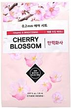 Parfémy, Parfumerie, kosmetika Plátýnková pleťová maska Třešňový květ - Etude House Therapy Air Mask Cherry Blossom