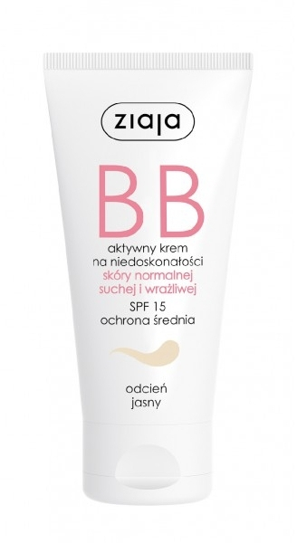 BB krém na obličej - Ziaja BB-Cream Jasny