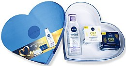 Parfémy, Parfumerie, kosmetika Sada - Nivea Q10 Power Set (day/cr/50ml+night/cr/50ml+micel/water/200ml)