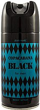 Parfémy, Parfumerie, kosmetika Jean Marc Copacabana Black For Men - Deodorant