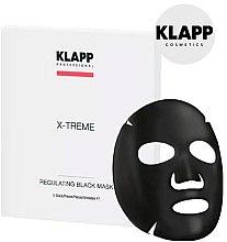 Parfémy, Parfumerie, kosmetika Regulační černá maska - Klapp X-Treme Regulating Black Mask