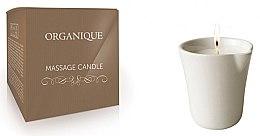 """Parfémy, Parfumerie, kosmetika Svíčka pro SPA masáž """"Bílá keramika"""" Bambus - Organique Spa Massage Candle Bamboo (bez rukojeti)"""