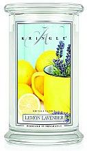 Parfémy, Parfumerie, kosmetika Vonná svíčka ve skle - Kringle Candle Lemon Lavender
