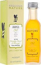 Parfémy, Parfumerie, kosmetika Olej na rovné a dlouhé vlasy - Alfaparf Precious Nature Oil For Long & Straight