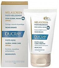 Parfémy, Parfumerie, kosmetika Prostředek na ruce proti pigmentovým skvrnam - Ducray Melascreen Global Hand Care SPF 50+