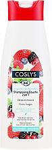 Parfémy, Parfumerie, kosmetika Organický šampon na vlasy a tělo s červenými plody, bez mýdla - Coslys Body Care Body And Hair Shampoo With Red Berries