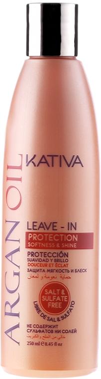 Revitalizační koncentrát na vlasy s arganovým olejem - Kativa Argan Oil — foto N1