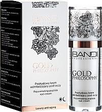 Parfémy, Parfumerie, kosmetika Peptidový krém pro oční kontury - Bandi Professional Gold Philosophy Rejuvenating Peptide Eye Cream