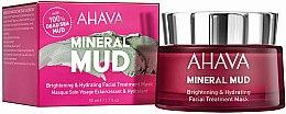 Parfémy, Parfumerie, kosmetika Hydratační maska na obličej - Ahava Mineral Mud Brightening & Hydrating Facial Treatment Mask