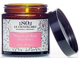 Parfémy, Parfumerie, kosmetika Vonná svíčka Okvětní lístky růží - Le Chatelard 1802 Rose Petals Scented Candle