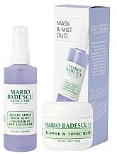 Parfémy, Parfumerie, kosmetika Sada - Mario Badescu Lavender Mask & Mist Duo Set (mask/56g+spray/118ml)