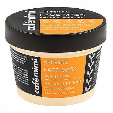 Bělící pleťová maska - Cafe Mimi Face Mask