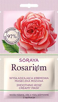 Vyhlazující krémová maska s růží - Soraya Rosarium Smoothing Cream Rose Mask
