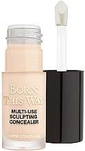 Parfémy, Parfumerie, kosmetika Korektor na obličej - Too Faced Born This Way Multi-Use Sculpting Concealer (mini)