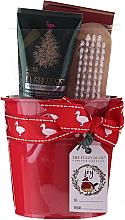 Parfémy, Parfumerie, kosmetika Sada - Baylis & Harding Tin of Treats Set (h/cr/50ml + nail/brush + bath/salt/75g)