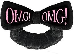 Parfémy, Parfumerie, kosmetika Kosmetická čelenka na vlasy, růžová - Double Dare OMG! Black Hair Band