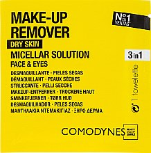 Parfémy, Parfumerie, kosmetika Odličovací ubrousky - Comodynes Make Up Remover Micellar Solution Easy Cleanser
