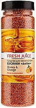 Parfémy, Parfumerie, kosmetika Koupelové kuličky - Fresh Juice Bath Bijou Amber Honey and Orange