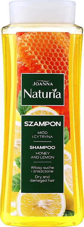 Šampon na vlasy s medem a citronem - Joanna Naturia Shampoo With Honey And Lemon